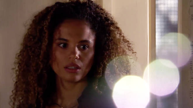 Chantelle is murdered by her husband Gray in Friday's episode