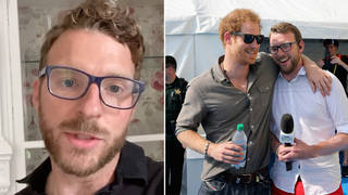 Strictly's JJ Chalmers and Prince Harry are friends
