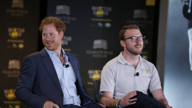 Prince Harry and JJ Chalmers have been friends for years