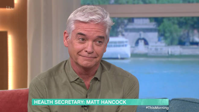 Phillip Schofield and Holly Willoughby quizzed the Health Secretary over reports of new restrictions