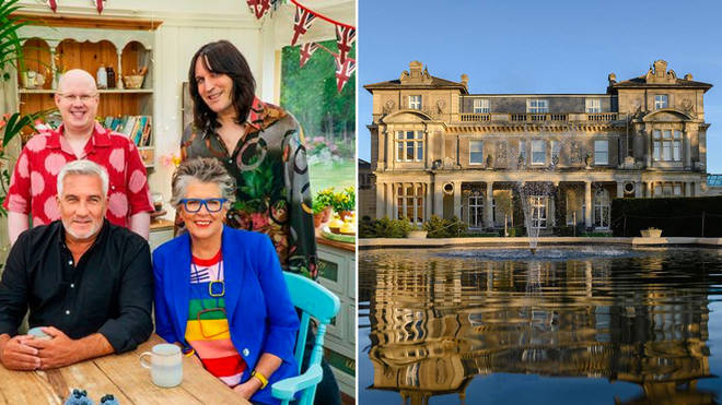 Bake Off is being filmed at Down Hall