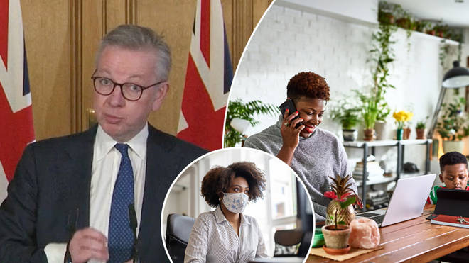 Michael Gove has said people should work from home
