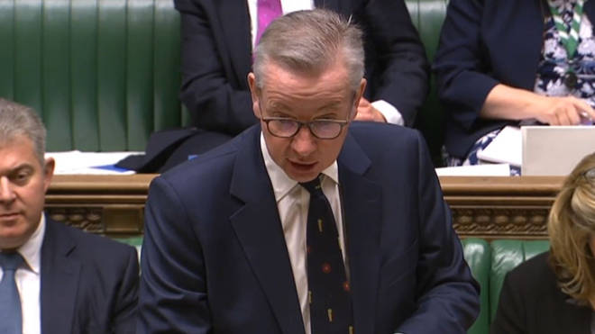 Michael Gove has said workers should stay home if they can