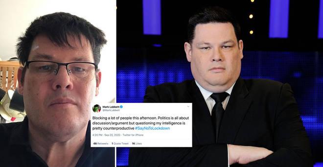 Mark Labbett has caused a stir on social media