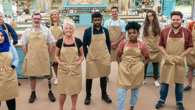 The Great British Bake Off contestants 2020