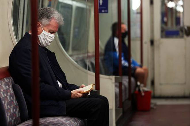 Face masks are mandatory on public transport in England