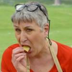 GBBO's Karen enjoyed a nibble of her baked goods