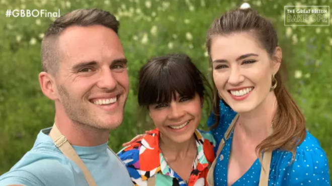 David, Steph and Alice were in the 2019 GBBO final