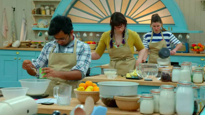 GBBO contestants get first dibs on their cakes after judging