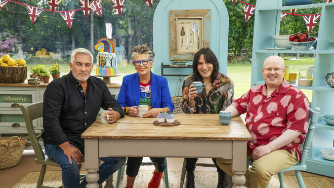 The new Great British Bake Off line up with Matt Lucas