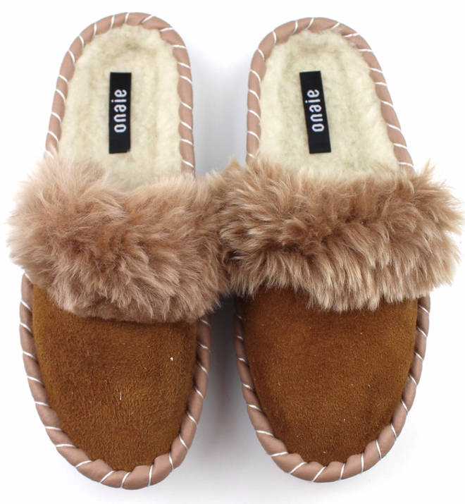 Slippers by Onaie, £32