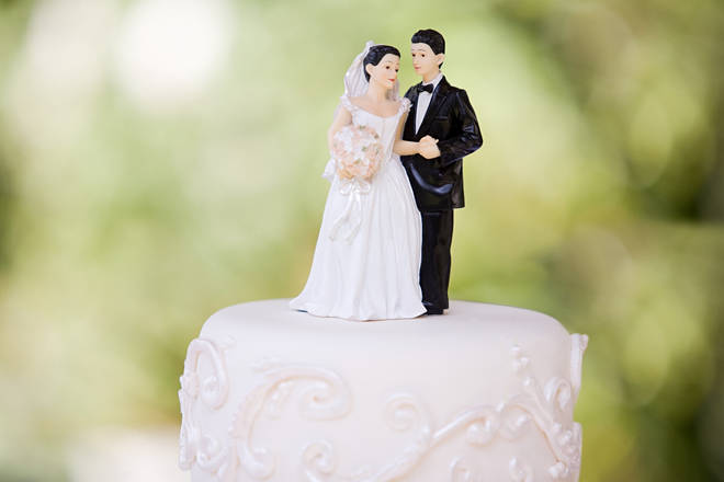 The bride and groom asked guests to disclose how much they're planning to gift them (stock image)