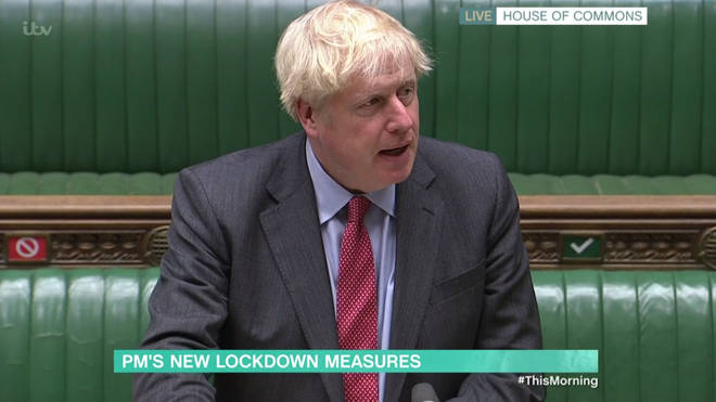 Boris Johnson confirmed the curfew across England in a bid to stop the spread of COVID-19