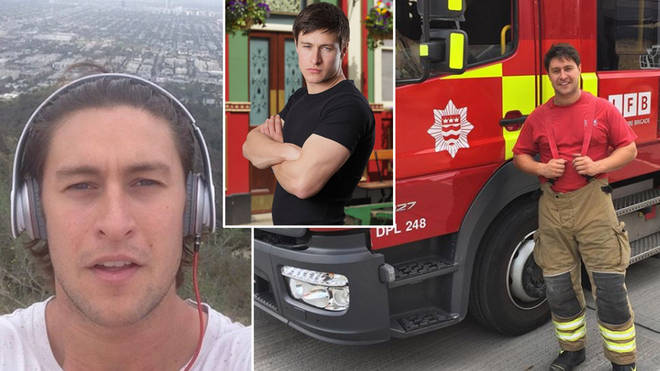Tony Discipline quit acting to become a fireman