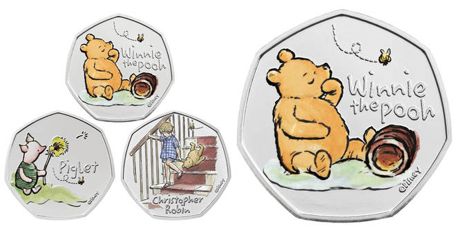 Royal Mint have launched Winnie the Pooh coins