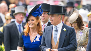 Sarah Ferguson and Prince Andrew pictured at Royal Ascot in 2015