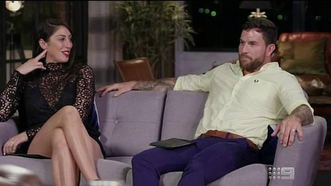 Dan Webb and Tamara Joy split on MAFS Australia