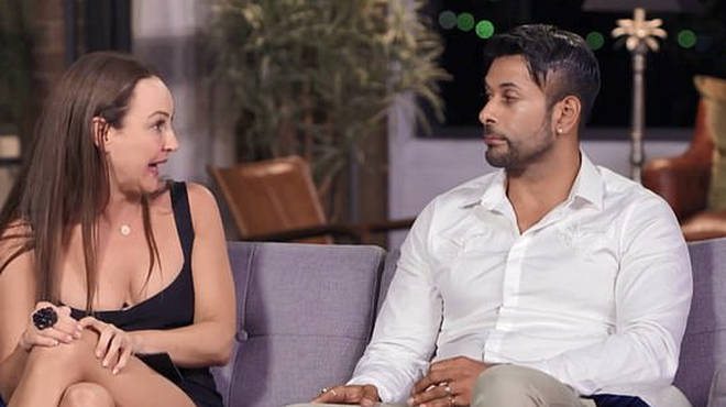 Melissa Lucarelli and Dino Hira were matched on Married at First Sight Australia