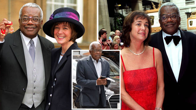 Sir Trevor McDonald and his wife Jo have reportedly split