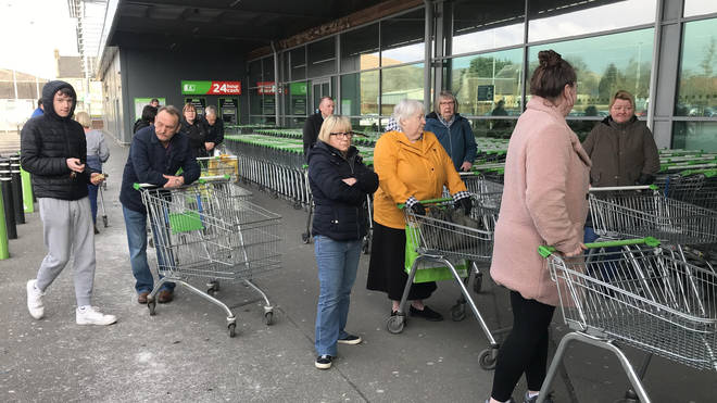 Asda will be implementing new social distancing rules