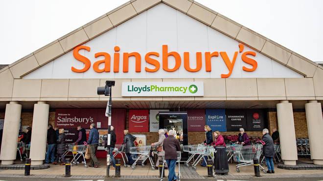 Sainsbury's has urged shoppers not to bulk buy