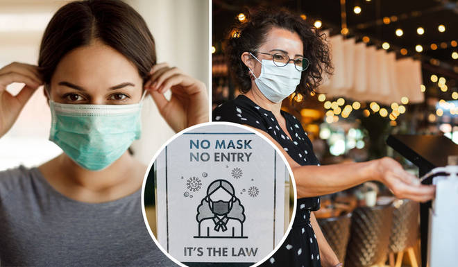 Face mask rules have changed across the UK