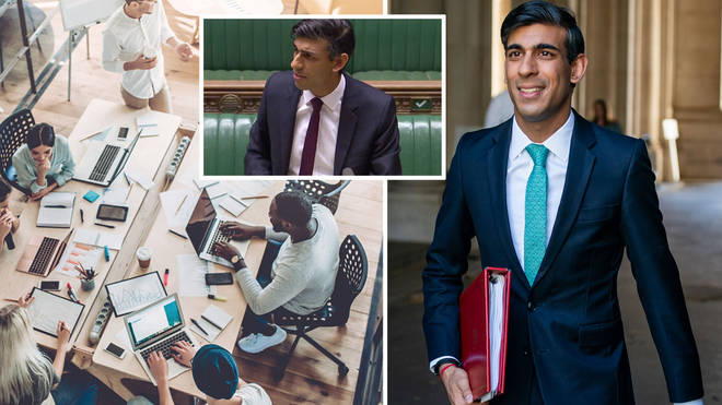 Rishi Sunak announced the arrival of a new scheme to support jobs across the UK