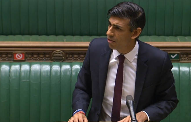 Rishi Sunak addressed the House of Commons today