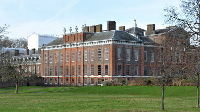 Kensington Palace has a variety of indoor and outdoor areas for a wedding reception