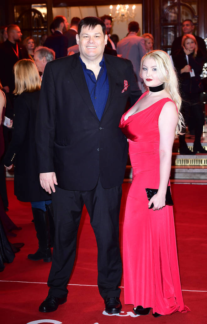 Mark Labbett and his wife Katie announced their split earlier this year