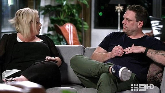 Jo and Sean clashed on Married at First Sight Australia