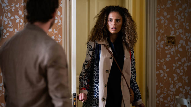 Chantelle tried to escape Gray in EastEnders