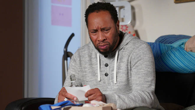 Mitch is devastated by Chantelle's death in EastEnders