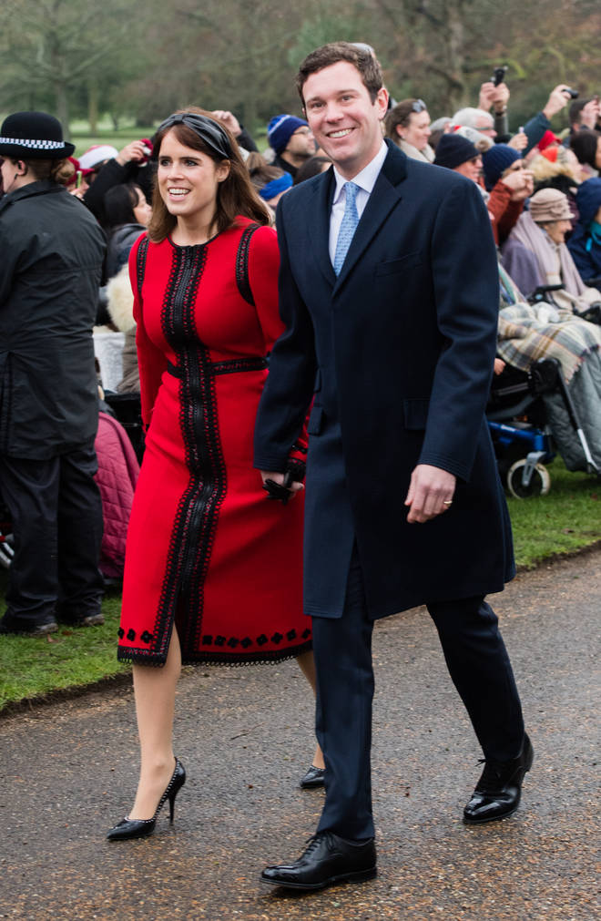 """Princess Eugenie and Jack Brooksbank said they are """"excited"""" for next year"""