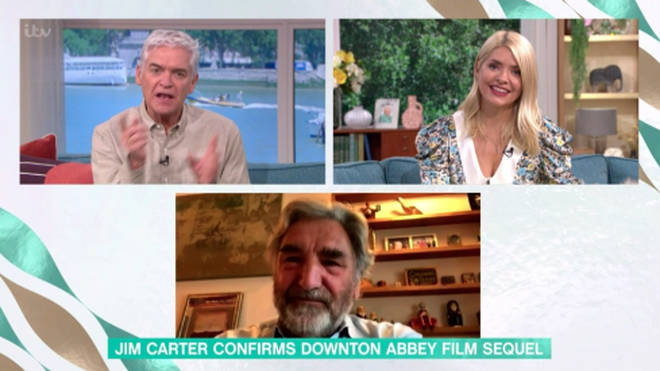 Jim Carter revealed details about the new Downton Abbey film on This Morning