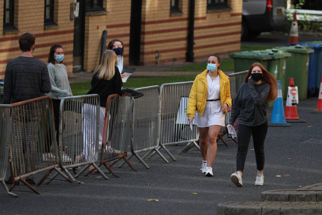 Glasgow University has seen an outbreak of coronavirus cases