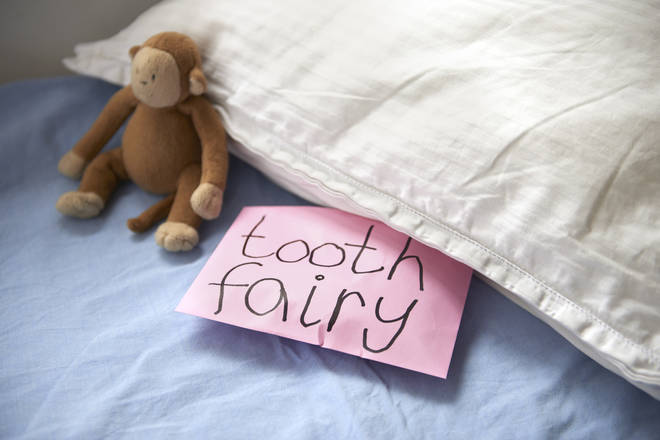 The mum sparked debate over the amount the tooth fairy should give (stock image)