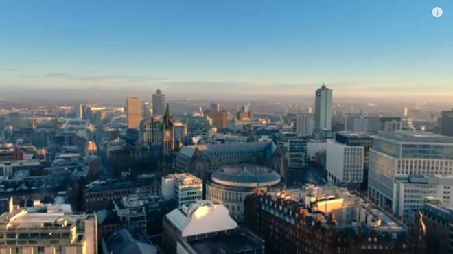 Life is filmed across Manchester