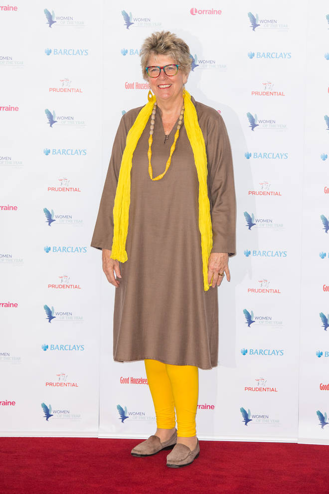 Prue Leith turned her attentions to her grandchildren after the death of her first husband
