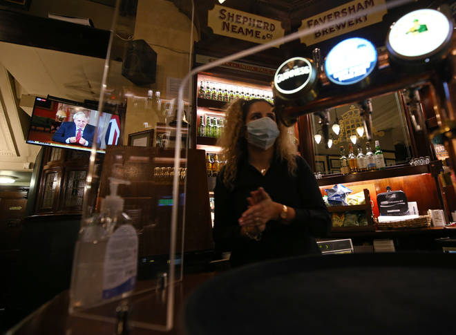 Pubs in some areas of England could be asked to close