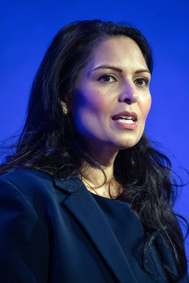 Priti Patel previously said she would call the police on her neighbours if they flouted the 'rule of six'
