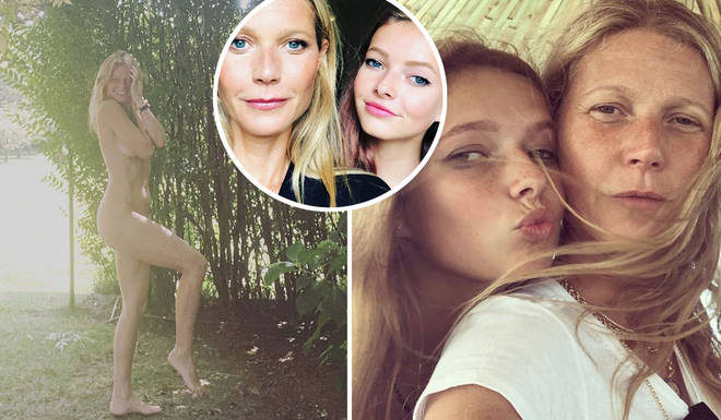 Gwyneth Paltrow stripped down to her birthday suit to celebrate her 48th birthday