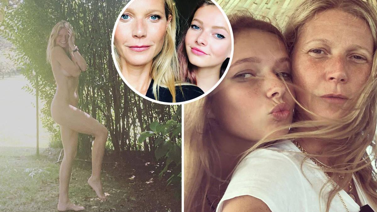 Gwyneth Paltrow poses nude to promote brand, draws flak