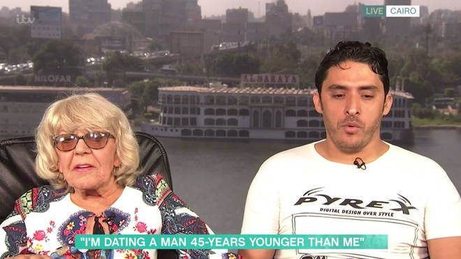 Iris and Mohamed appeared on This Morning together