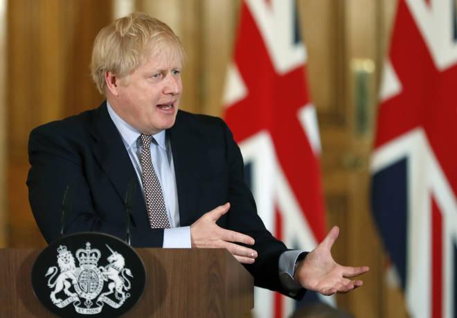 Boris Johnson announced new lockdown measures last week