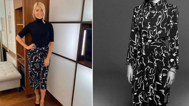 Holly Willoughby's skirt is from Zara