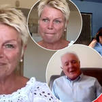 Les and Janice Battersby actors Vicky Entwistle and Bruce Jones reunted
