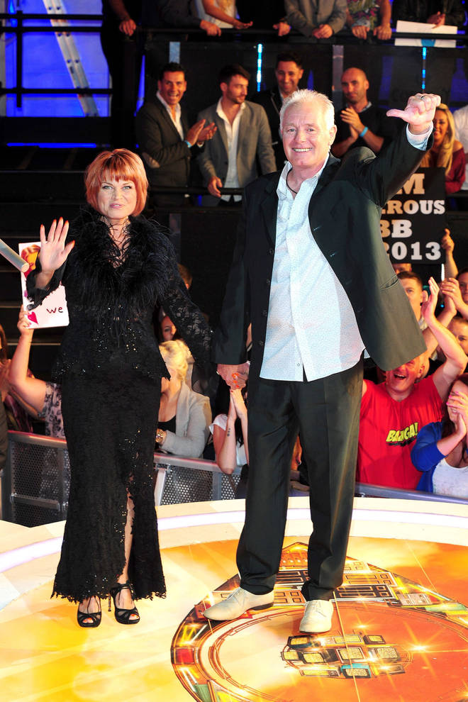 Vicky Entwistle and Bruce Jones appeared on Celebrity Big Brother together