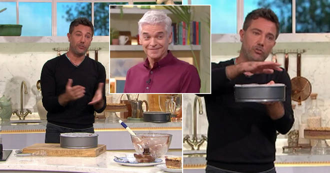Gino D'ACampo almost told a very X Rated story on This Morning