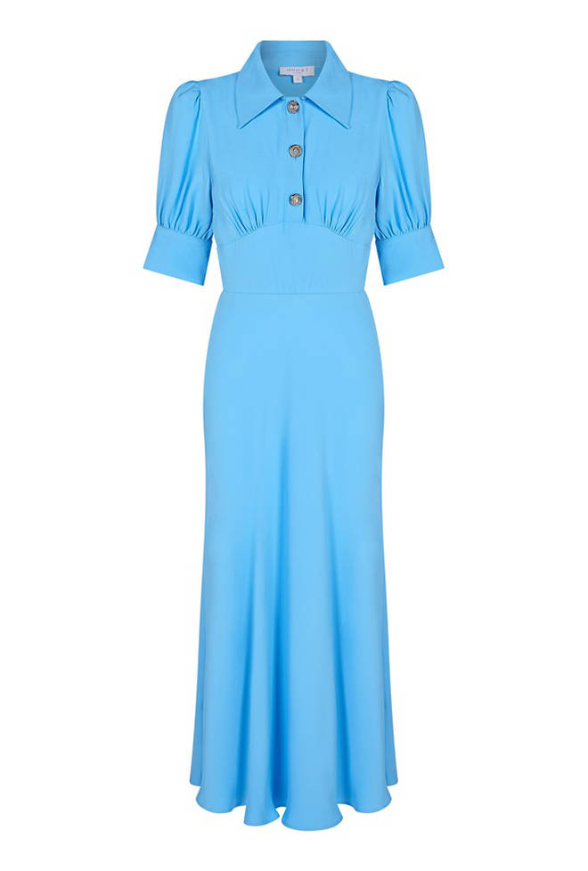 This blue dress is £149 from Ghost